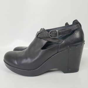 Dansko Leather Booties Cushioned Arch Suporting
